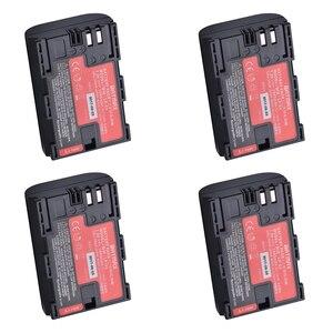 Image 5 - 2pc LP E6 LP E6 LP E6N batteria giappone Sanyo Cell + LED caricatore doppio USB per Canon EOS 6D 7D 5DS 5DSR 5D Mark II 5D 60D 60Da 70D 80D