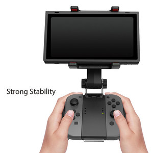 Image 2 - Nintend Switch Controller Handle Clip Clamp Mount Holder Free Rotation Joy con Switch Pro Gamepad Bracket For Switch Accessories