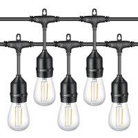Vender https://ae01.alicdn.com/kf/H2df0e109c2d34892a5d3b3b40b76b59d4/2 paquetes de luces de cadena LED S14 49Ft impermeable IP65 Luz de cadena al aire.jpg