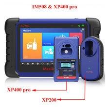 Autel – MaxiIM IM508 outil de programmation de clé et de puce, IMMO avancé, XP400 Pro, Original