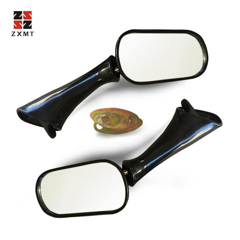 Espejo retrovisor Negro para Motocicleta CBR 600 F2//F3 1000F VFR 750F 800 FI