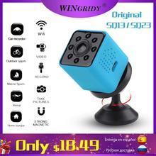 Original SQ23 sq13 WiFi CAM กล้องมินิกล้องวิดีโอ Full HD 1080P กีฬา DV Recorder 155 Night Vision ขนาดเล็ก Action กล้อง DVR SQ11