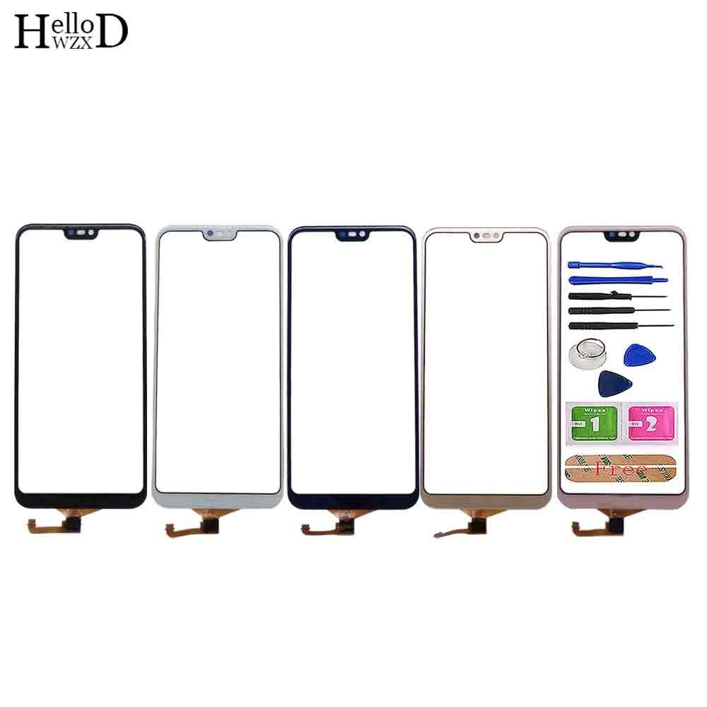 Сенсорный экран для мобильного телефона Huawei P20 Lite, сенсорный экран, дигитайзер, панель, переднее стекло, датчик для Huawei Nova 3E, сенсорный экран, ...