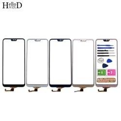 Mobilny ekran dotykowy dla Huawei P20 Lite ekran dotykowy panel digitizera czujnik przedniej szyby dla Huawei Nova 3E ekran dotykowy narzędzie klej