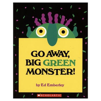 Go Away Big Green Monster Learning English Language Books for Kids Classroom Decoration Montessori Reading Picture Paper - discount item  5% OFF Learning & Education