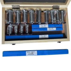 Image 2 - 22 sztuk Hss Groove wpustki zestaw tulei Shim zestaw metryczny System 12 30 HSS scyzoryk wpustowy do maszyny CNC