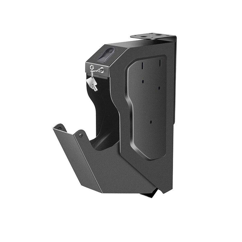 Gunsafe Gunbox Pistol Safe Gun Safes Fingerprint Biometric Spare Key Lock Safebox Keybox Strongbox Boxes Safety Security Key