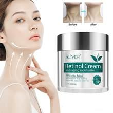 Aliver Retinol Hyaluronzuur Vitamine Een Anti-Rimpel Verstevigende Crème Voedende Lotion Hydraterende Hydraterende Crème V1Q4