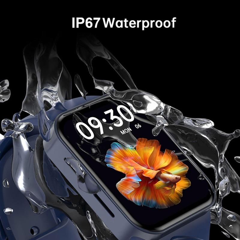 CHYCET Original IWO Series 7 Smart Watch Men 1.82 Inch HD Screen Dial call Smartwatch Women Heart Rate Monitor Watch PK HW22 W46 6