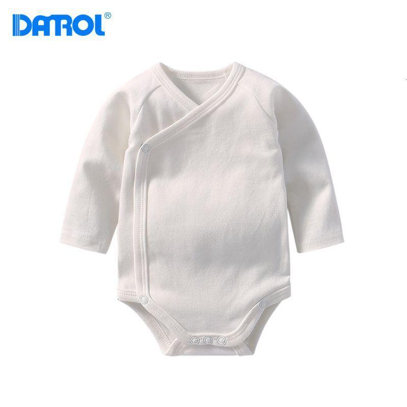 Winter Long Sleeve Baby Cotton Newborn Jumpsuit Romper For Baby Girls Boys