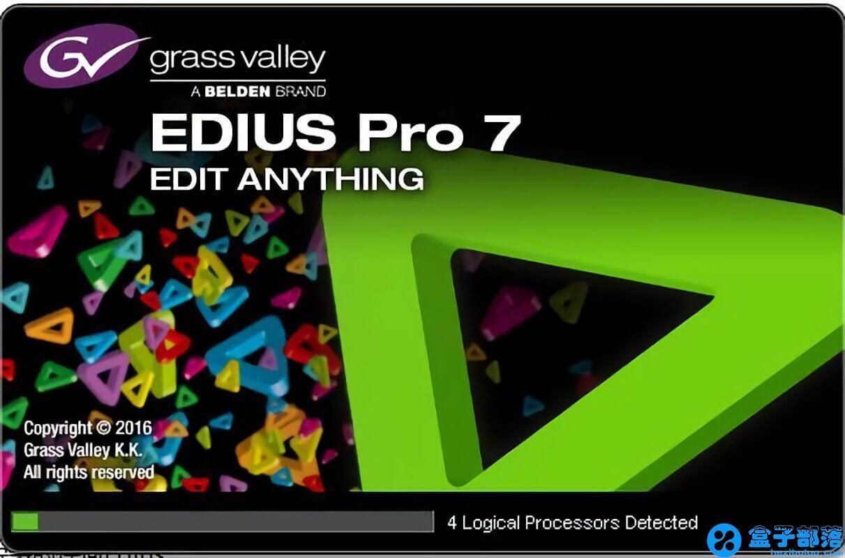 Edius Pro 7 优秀的非线性视频编辑软件