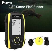 Eyoyo E4 נייד דגי Finder 0.6 72m סונאר LCD הד סאונדרס Fishfinder גשוש הד עבור דיג עמוק יותר חכם סונאר צרצור