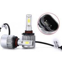 цена на 2 Pcs H4 LED H7 H11 H8 HB4 H1 H3 HB3 Auto S2 Car Headlight Bulbs 36W 8000LM Car Styling Conversion Kit 6500K Led Beam 12V Light