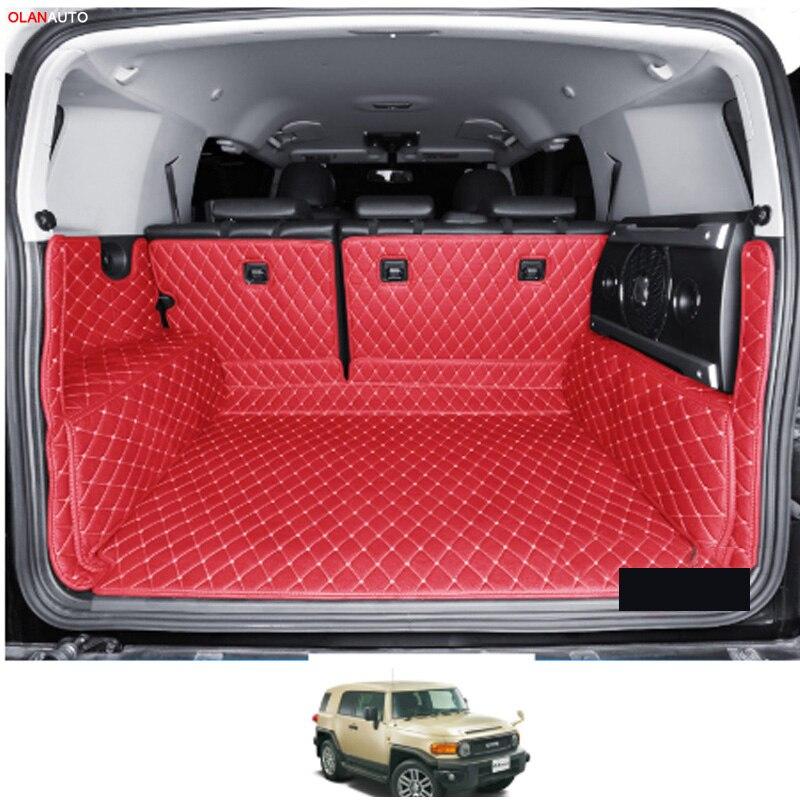 Кожаный коврик для багажника toyota FJ cruiser, 2008, 2009, 2010, 2011, 2012, 2013, 2014, 2015, 2016, 2017, 2018, 2019