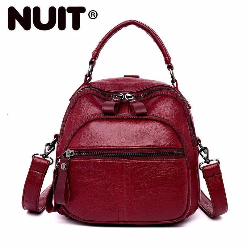 Women Small Backpacks For Girls Mochilas Female Back Pack Vintage Bagpack Multifunction School Bags For Girls Casual Daypack