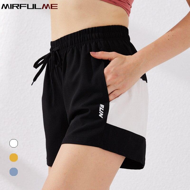 VERANO Mujer Fitness Pantalones Cortos Pantalones Cortos para Correr