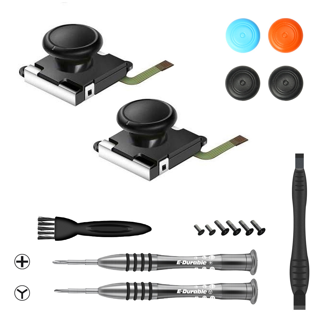 Joycon Repait Kit 3D Joystick Replacement  For Nintendo Switch Repair Tool