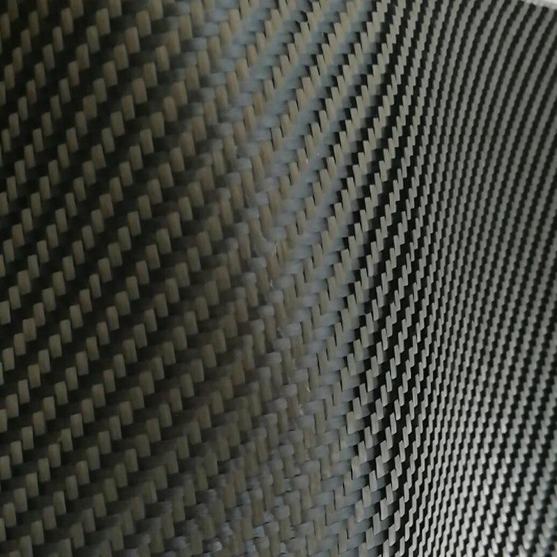 Tela de sarga kevlar negro 3k, fibra de aramida para funda de teléfono móvil