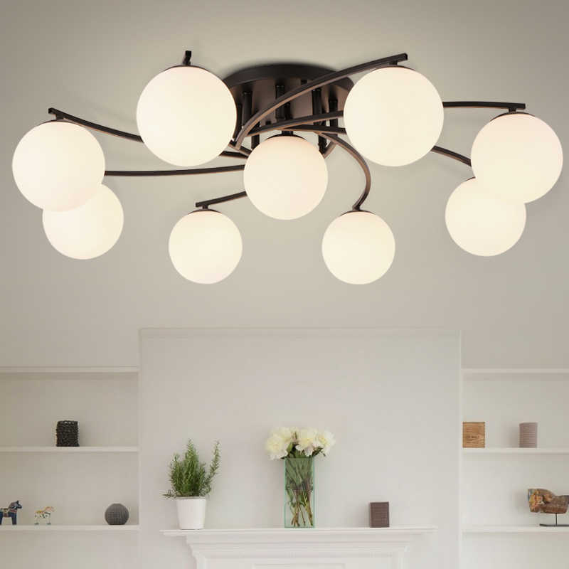 LED Ceiling Chandelier Light  Modern Simple Luxury Ceiling Lamp Living Room Bedroom Dining Room Study Room Foyer