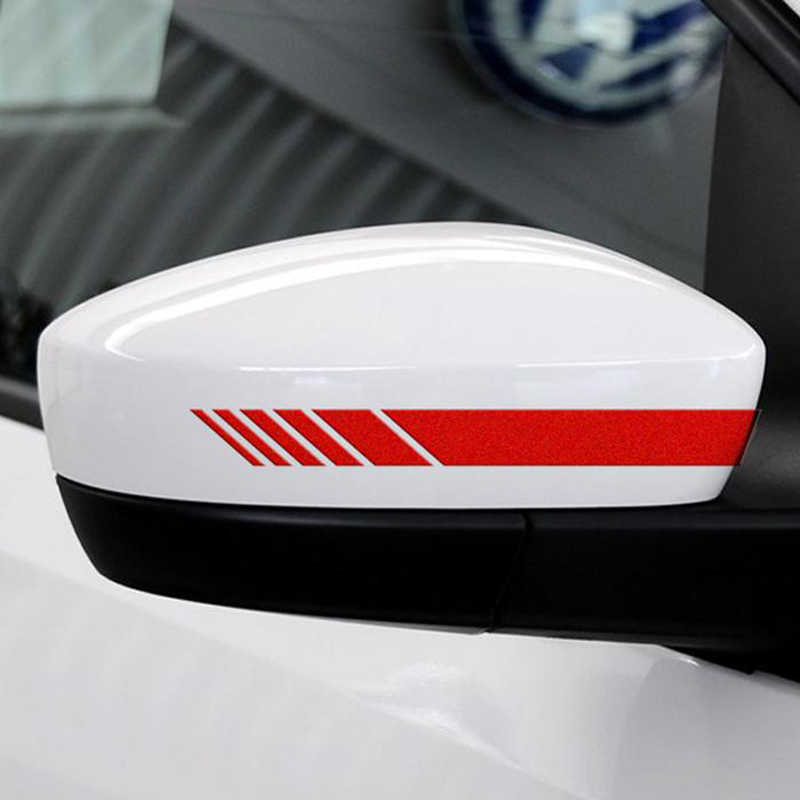 3x Wing Mirror Decals for Porsche 911 Boxer Cayenne Cayman Macan Colours