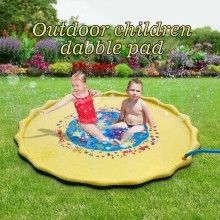 Kids Water Sprinkle and Splash Pad Play Mat Diamet