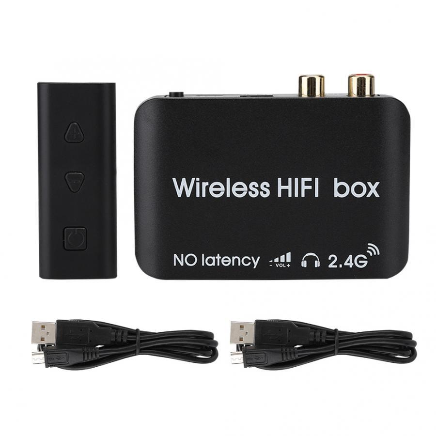 Récepteur bluetooth Durable ABS sans fil 2.4G HIFI sans retard transmetteur Audio récepteur ensemble 2403-2478MHZ adaptateur sans fil