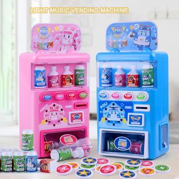 Dzieci symulowane automat sprzedający Puzzle napoje automat sprzedający zabawka zabawka do udawania zestaw dla dzieci tanie i dobre opinie Europa certyfikat (CE) USA certyfikat (UL) 2-4 lat 5-7 lat Zawodów Pretend Play