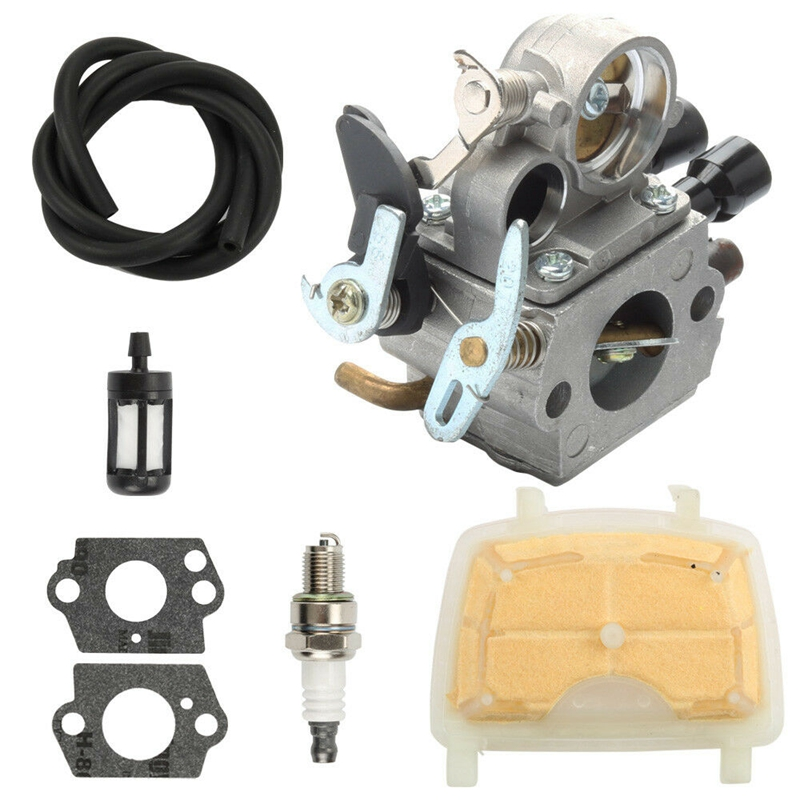 Carburetor Tune Up Kit For Stihl MS171 MS181 MS211 ZAMA C1Q-S269 Carb Chainsaw