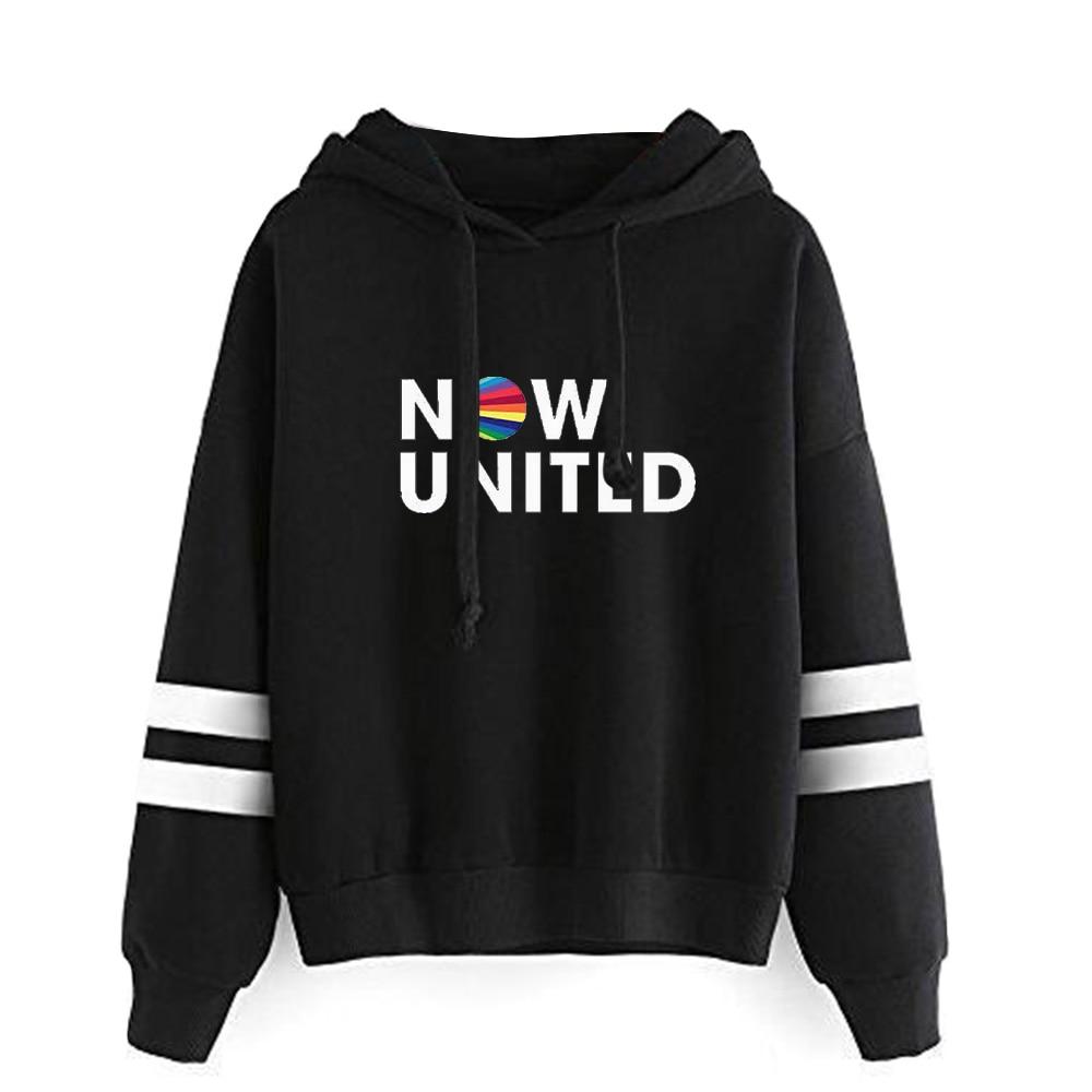 WAMNI 2020 Now United - Better Album Hoodie For Women Better Now United Lyrics  Pullover Girl Kawaii Harajuku Tracksui