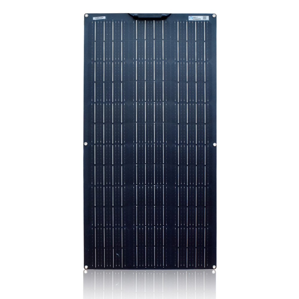 Solar Panel 100W Monocrystalline Flexible waterproof Lightweight Solar Panel Bendable for Van Motorhome Caravan RV Boat Cabin Camper trailer Tent Car Any Other Irregular Surface