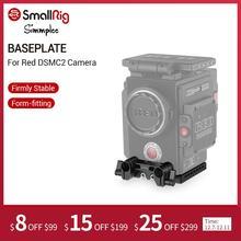 Plaque de petite Plate forme pour SCARLET W de caméra rouge DSMC2/corbeau/plaque de base darme 1756