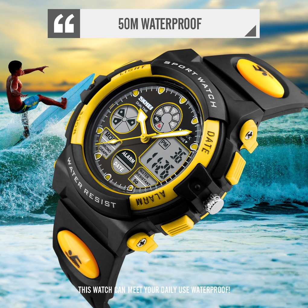 Luxury Electronic Waterprood Kid Smart Watch Sports Cool Multifunction Fashion Children's Watches Reloj Infantil 2020 FJSL