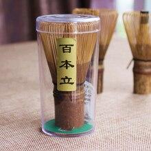 [GRANDNESS] 100 щипцы фиолетовый бамбуковый венчик Chasen Matcha бамбуковый венчик ручной работы японский венчик для чая порошок зеленого чая