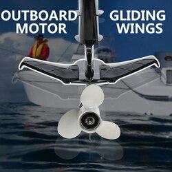 Außenbordmotor Gleiten Flügel Außenborder Druck Platte Stabilisiert Anti-warp Kopf Für Yamaha Dongfa Quecksilber Parsun Außenbordmotor