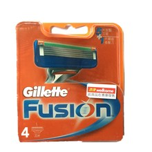 4/8PCS/BOX Gillette Fusion 5 Layer Blade Men Face Care Shaving Razor Power Brands Shaver Blades