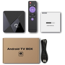 Q1 MINI Smart TV BOX Android 9.0 Youtube 2GB 16GB RK3328 Qua