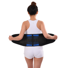 Adjustable Neoprene Double Pull Lumbar Support Lower Back Belt Brace Support Pain Relief Band Waist Belt S-6XL Plus Zize adjustable neoprene double pull lumbar support lower back belt brace support pain relief band waist belt s 6xl plus zize
