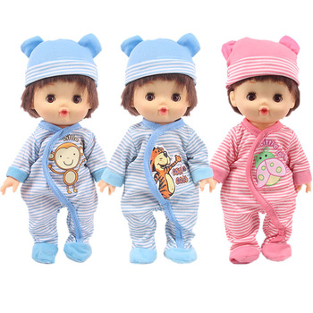 Lovely Doll Clothes Pajamas Fit 25Cm Mellchan Baby Nenuco y su Hermanita Accessories Generation Girl`s