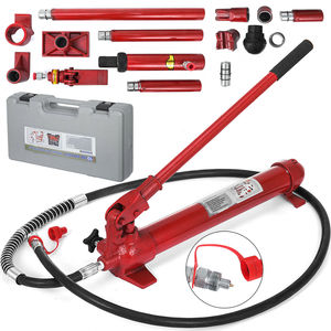 Podnośnik hydrauliczny zestaw 10 Ton przenośny podnośnik hydrauliczny rama nadwozia zestaw naprawczy