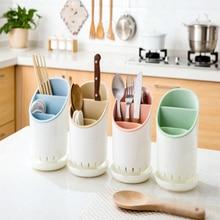1 шт. пластиковые дренажные палочки для еды ведро ложка Вилка стойка многофункциональная Бытовая коробка для хранения кухонные принадлежности