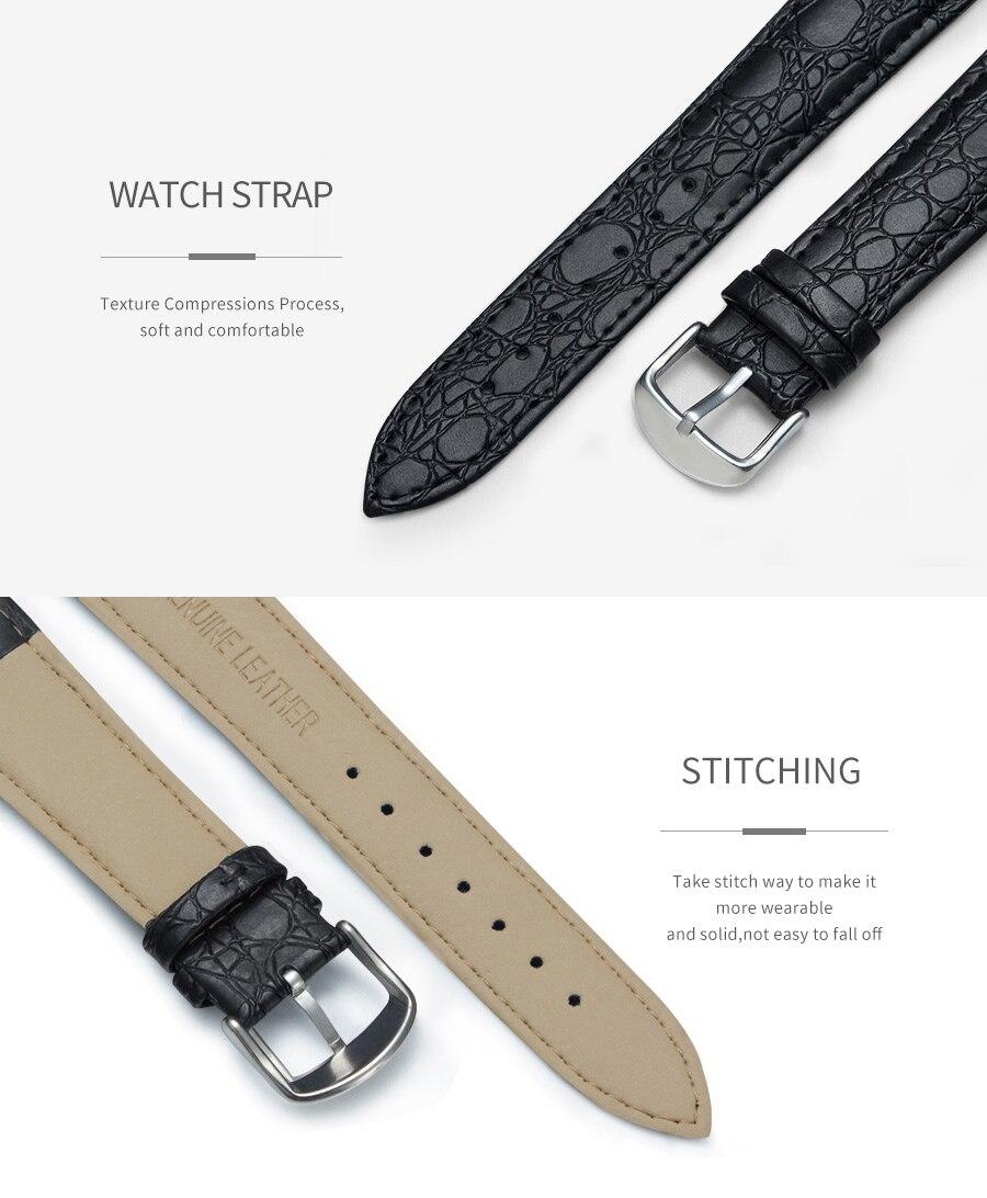 H2df5260d484b496a942cdcde1aaaf8797 Luxury Business Men's Watches relogio masculino PU Leather Strap Hiqh Quality Dress Watch Men Classic Casual Quartz Male Clock