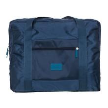 Torby podróżne bagaż podręczny z kółkami wodoodporna etui podróżne składane torby torebki podróżne bagażu torba do przechowywania ubrań 2020 tanie tanio ISHOWTIENDA Poliester Wszechstronny 18cm 48cm zipper Podróż skrzynki 151g LXBB - M23 SOFT Normcore minimalistyczny Polyester