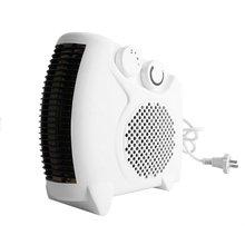 2017 NEW Mini Portable Electric Heater Bathroom Warm Air Blower Fan Home Heater Adjustable Thermostat warm air blower heater home office mini portable thermoelectric heating electric heaters