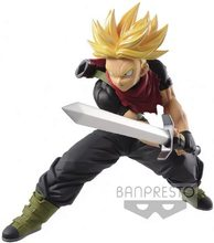 BANPRESTO Dragon Ball Z DBZ DXF Heros SSJ Trunks PVC Action Figure Toys Figurals Model Dolls Brinquedos Vol.005(China)