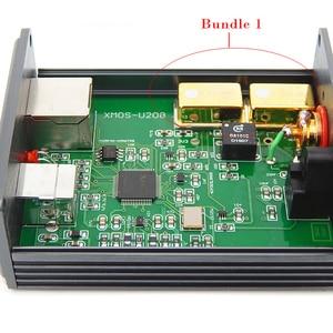 Image 2 - HiFi audio USB decoder von XMOS U308 chip für verstärker USB digital Adapter USB auf spdif koaxial Optische faser IIS d192K 24BIT