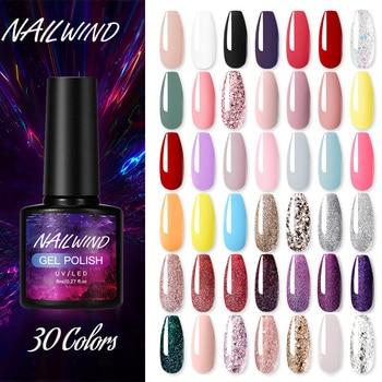 Nailwind Gel polish Hybrid Varnishes Neon Manicure Set for Nails Extension Base Top Coat UV permanent Nail Art Gel Nail Polish 1