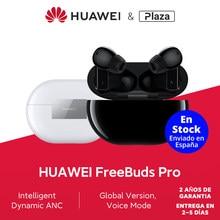 Version mondiale Huawei FreeBuds Pro Réduction active du bruit Son ambiant Transmission vocale transparente Connexion double appareil