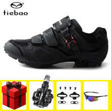 Tiebao Cycling Shoes add SPD pedal set sapatilha ciclismo mtb men sneakers women Bike Sneakers mountain bike Ride Bicycle Shoes tiebao sapatilha ciclismo mtb cycling shoes winter men sneakers women mtb bicicleta mountain bike shoes warm bicycle shoes