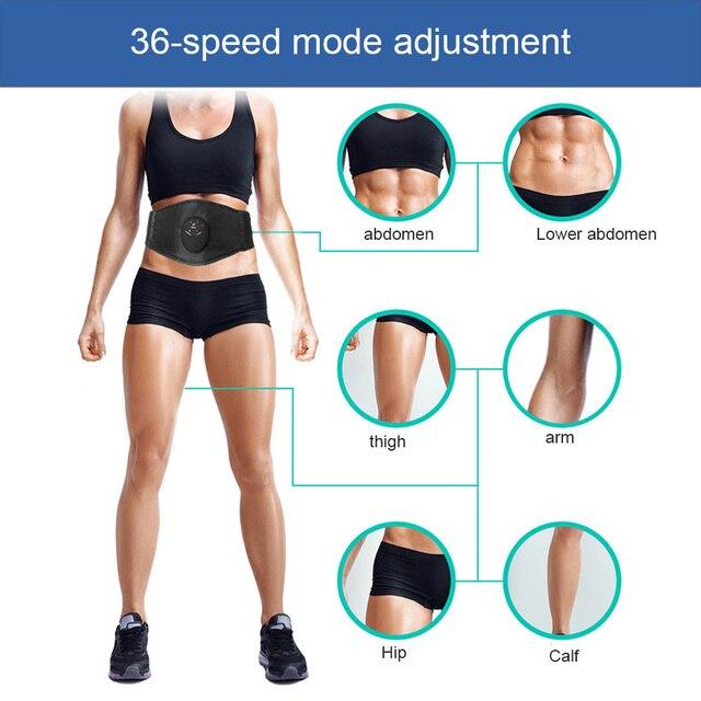 Intelligent Women Body Shapers Unisex Waist Massage Weight Loss Machine Cincher Tummy Slimming Belt Waist Trimmer Trainer 2