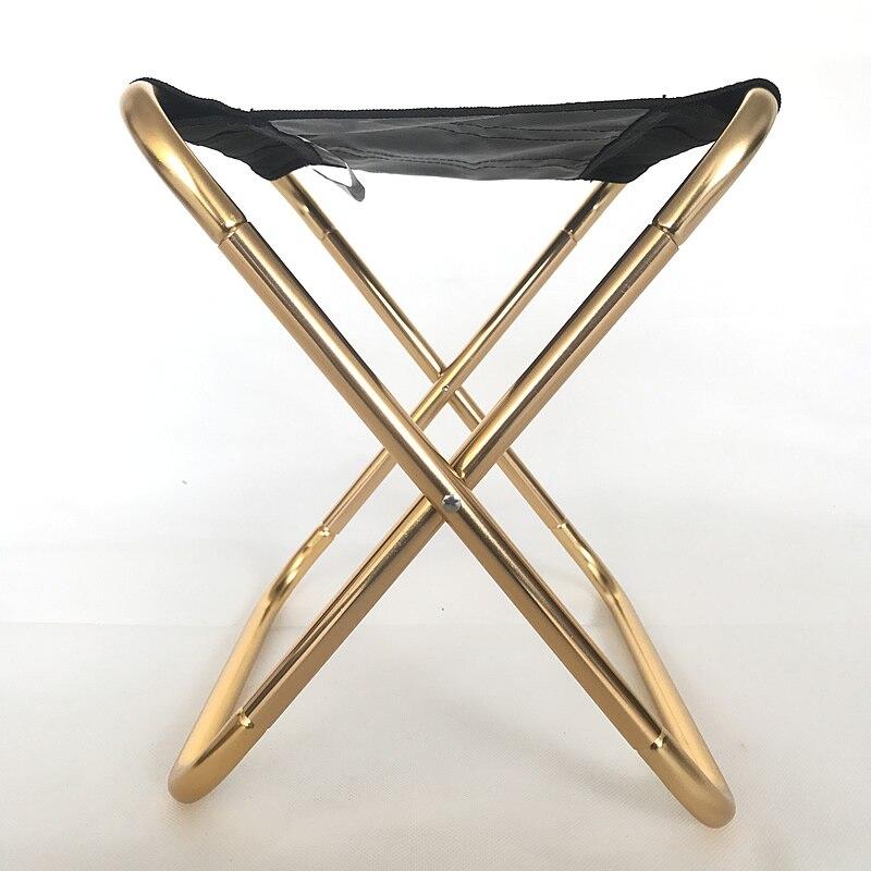 Folding Stool Portable Outdoor Ultra Light Fishing Chair Subway Train Travel Picnic Camping Foldable